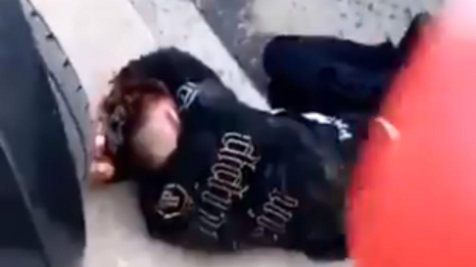 El joven ladrón detenido por vecinos en La Matanza recibió una paliza.