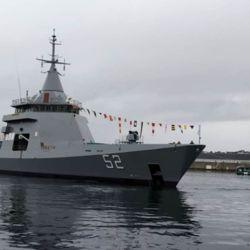 El ARA Piedrabuena es un patrullero oceánico de la clase Gowind, diseñado por empresa de defensa Naval Group.