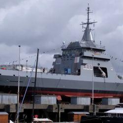 El buque tiene una autonomía de 8.000 millas náuticas.