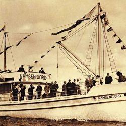 En 1917 se botó el primer barco de hormigón destinado a cruzar el océano Atlántico: el Namsenfjord, de Nicolay Fougner, un buque de 26 m de eslora y 400 toneladas que revolucionó la náutica.