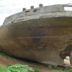 Esta embarcación está ubicada en la ciudad de Colón, Entre Ríos;