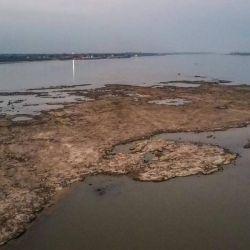 El islote mide aproximadamente dos hectáreas y su perímetro es de 1,2 kilómetros.
