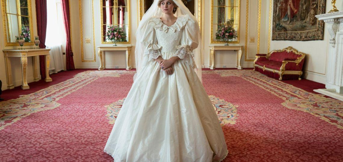 Lady Di: la réplica de su vestido de novia que se verá en The Crown
