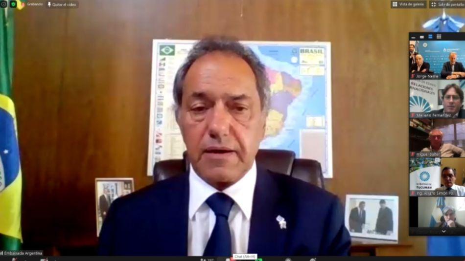Brasil Daniel Scioli exportaciones 20201005