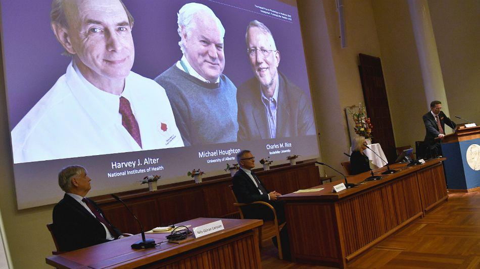 Premio Nobel de Medicina.