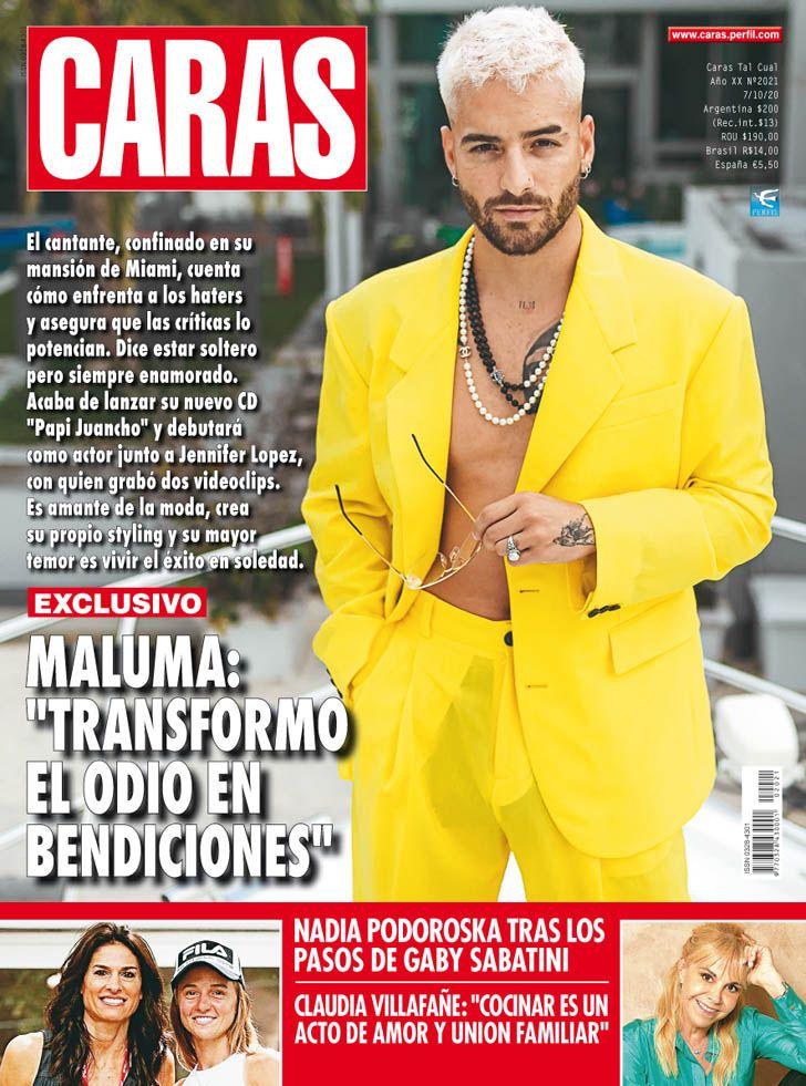 """MALUMA: """"TRANSFORMO  EL ODIO EN  BENDIONES"""""""