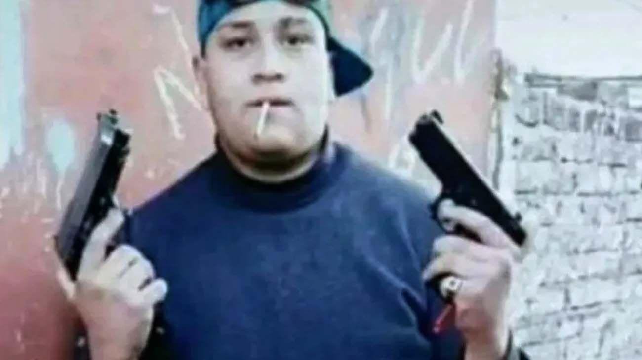 Despedida chico (Curly) que mató el panadero en La Matanza.
