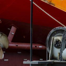 ARA Beagle en su paso por Tandanor