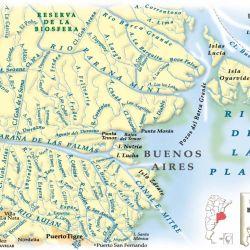 Mapa de la zona.