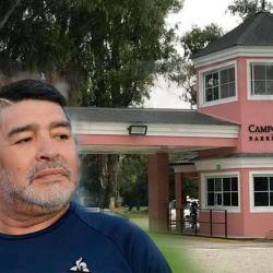 Diego Maradona Vive en el country Campos de Roca | Foto:cedoc