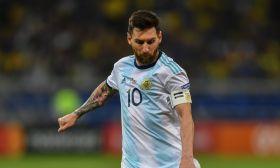 Lionel Messi albiceleste