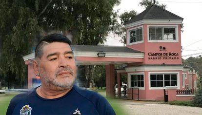Ex empleado de Maradona buscado por el robo en el country donde vive Diego