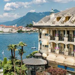 Villa Aminta está de cara al Lago Maggiore y con su lancha acerca al visitante a las Islas Borromeas.