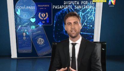 Informe: Disputa por el pasaporte sanitario