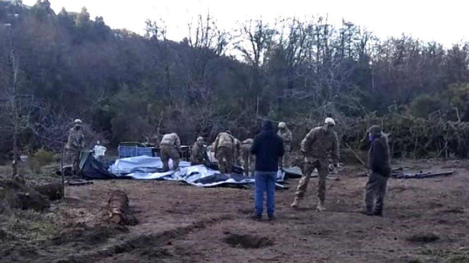 Conflicto Mapuche Militares en Bariloche 20201008