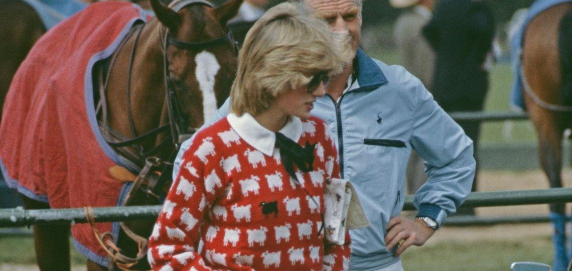 Lady Di: sus sweaters favoritos están a la venta
