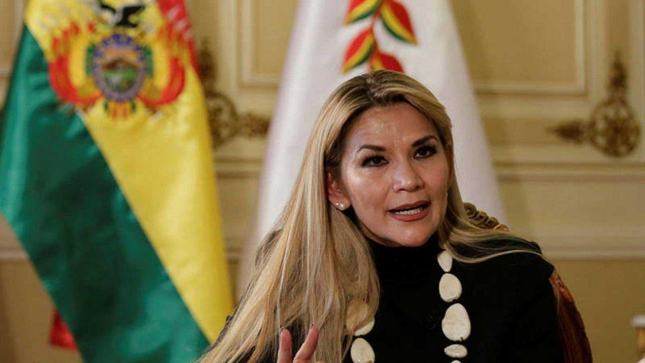 Añez, presidenta interina de Bolivia.  | Foto:CEDOC