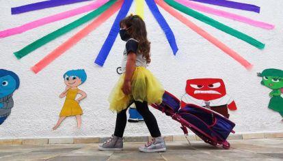 la vuelta a la escuela en San Pablo