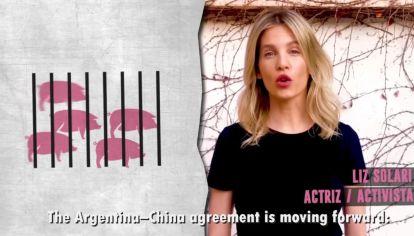 Famosos de todas las ideologías políticas repudian el acuerdo comercial con China