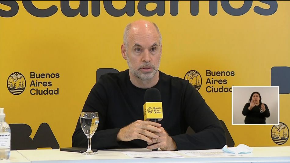 Horacio Rodríguez Larreta anuncio la nueva fase de la cuarentena.