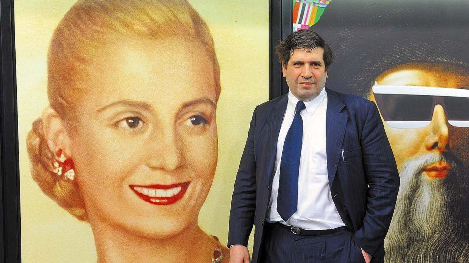 Sergio Chodos, en la entrevista con Jorge Fontevecchia.