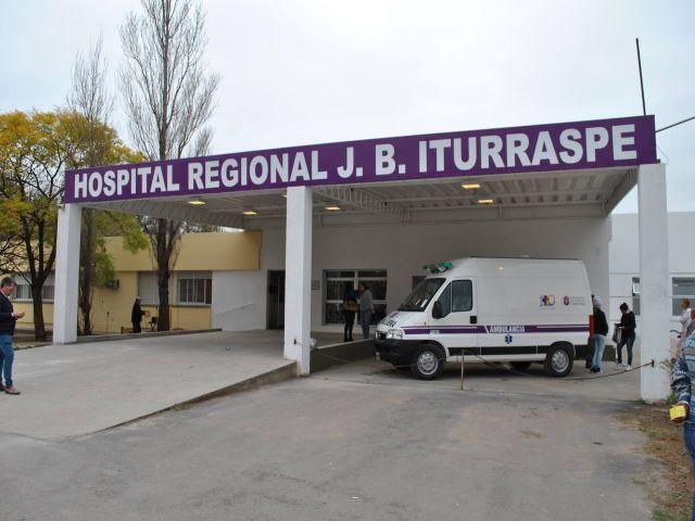 SALUD. El Hospital Iturraspe concentra a gran parte de los infectados del departamento San Justo.