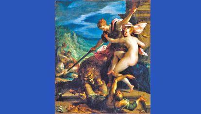 Alegoía. El Triunfo de la Verdad, del pintor alemán Hans von Aachen (1552-1615).