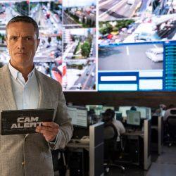 Con la conducción de Paco Zea, podremos ver cómo la policía de México controla las calles a través de las cámaras en Cam Alert.