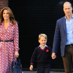 Kate, William y sus hijos.