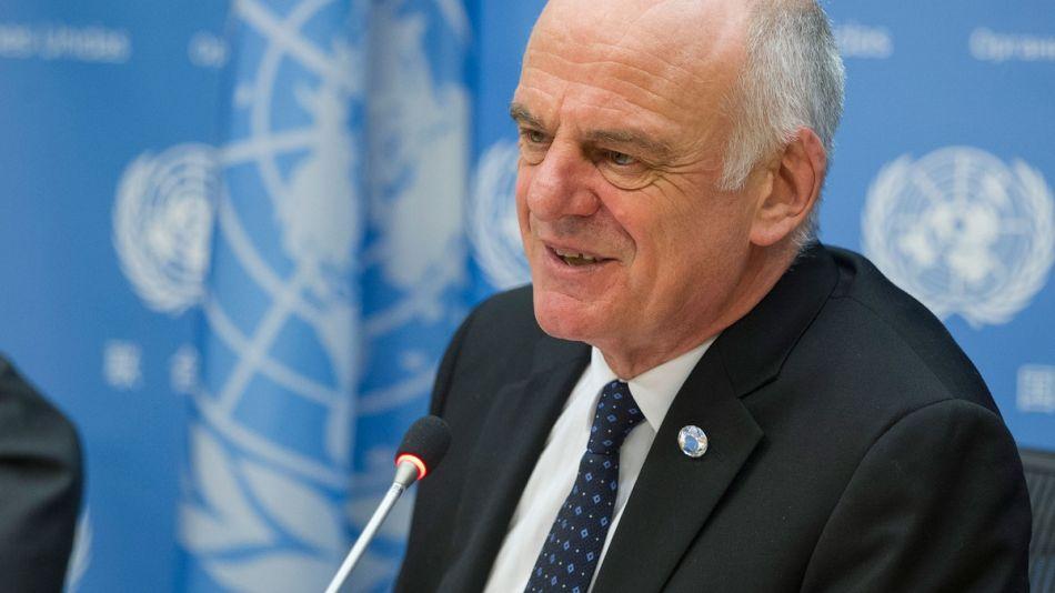 Dr. David Nabarro especialista de la OMS