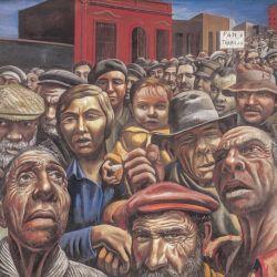 Manifestación, de Antonio Berni