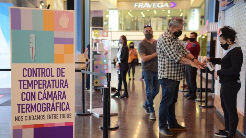 Reapertura de Shoppings 20201014