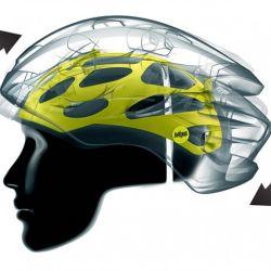 Esta estructura interna es la que realmente protege la cabeza.