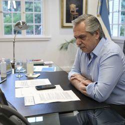 Alberto Fernández, preocupado | Foto:cedoc