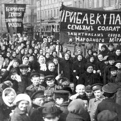 Huelga general en Rusia