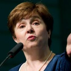 Kristalina Georgieva. | Foto:AP.