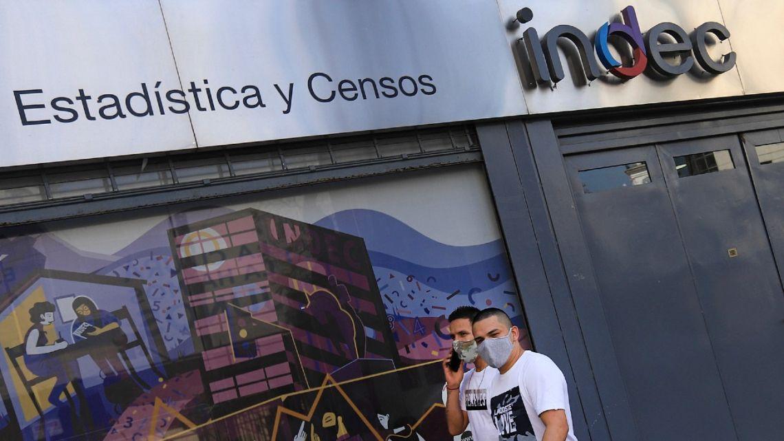 The INDEC national statistics bureau, pictured in Buenos Aires.
