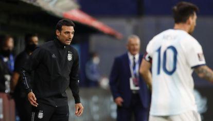 Scaloni, entrenador de la Selección