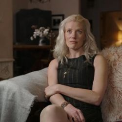 Una de las víctimas de Jeffrey Epstein, Marijke Chartouni.   Foto:Lifetime