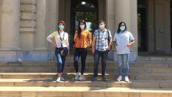 Allison, Micaela, Gael y Lorena, el Cupo trans del Hospital Laura Bonaparte.
