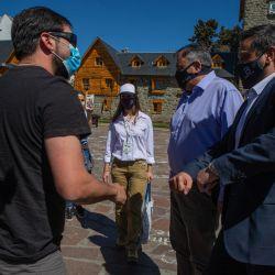 Llegaron los primeros turistas rionegrinos a Bariloche en lo que es la primera experiencia piloto de cara al verano.