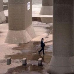La altura de esta catedral anti-agua supera a la de la Estatua de la Libertad, en Nueva York.