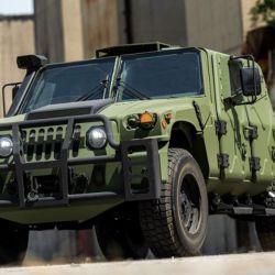 El NXT 360 ha sido presentado por la empresa como la próxima generación del vehículo táctico ligero Humvee.