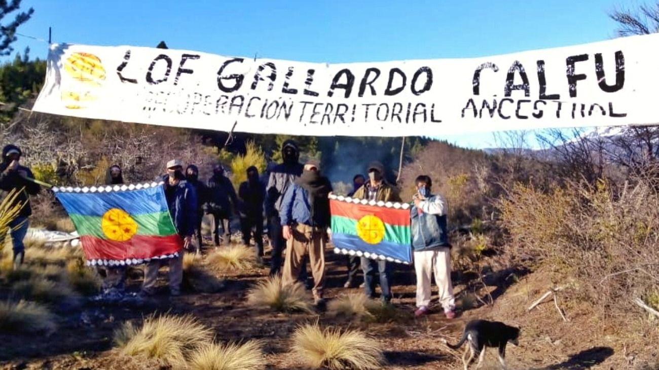 Una comunidad mapuche tomó 600 hectáreas en Bariloche.