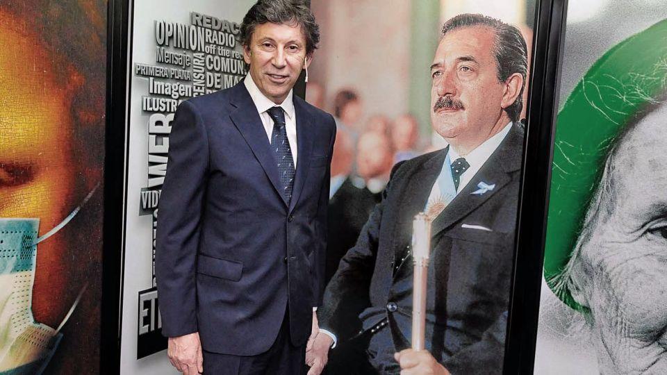 """Internas. """"Mi referencia en el radicalismo nacional es Enrique Nosiglia"""". """"El vínculo de Macri con la política se gestó en Boca y Coti Nosiglia estaba allí. Luego, pagó un precio por ello""""."""