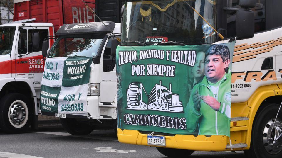 preparativos de la caravana de sindicalistas por 17 de octubre 20201017