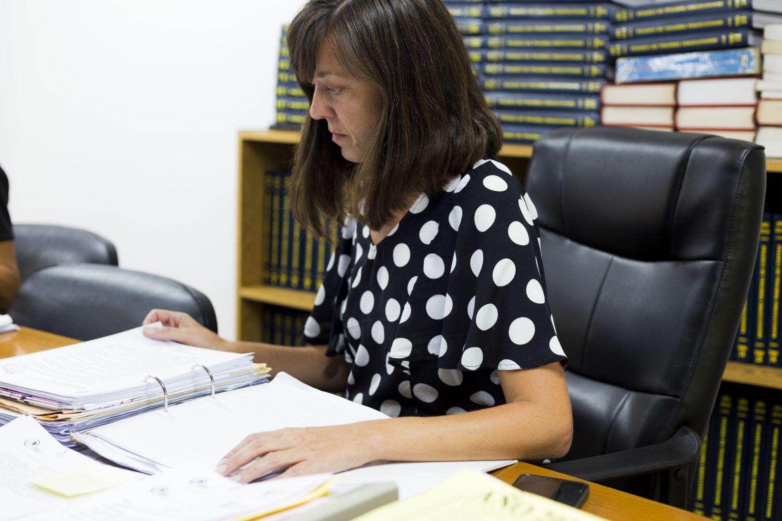 """PEDIDO. """"Hace falta que alguien salga a explicar la situación en Río Cuarto"""", señala la candidata a intendente Lucía de Carlo."""
