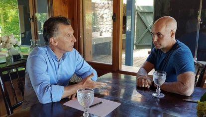Mauricio Macri y Horacio Rodríguez Larreta