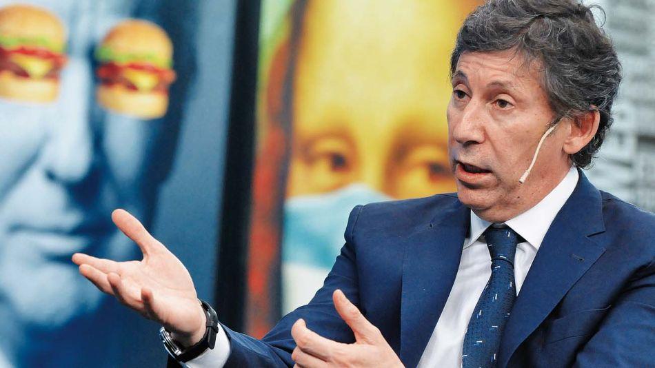 Gustavo Posse, en la entrevista con Jorge Fontevecchia.