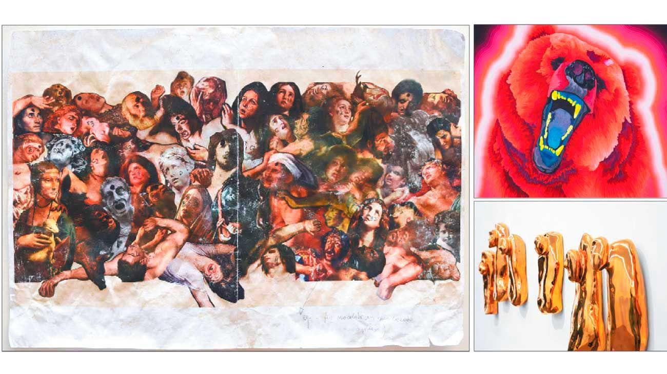 """Matar o morir. En palabras del artista: """"El arte como forma de reducción de daños, o un modo de gratitud, tal como lo fue y sigue siendo la invención de dioses."""""""